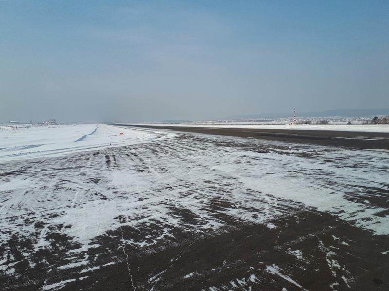 departure runway irkutsk airport