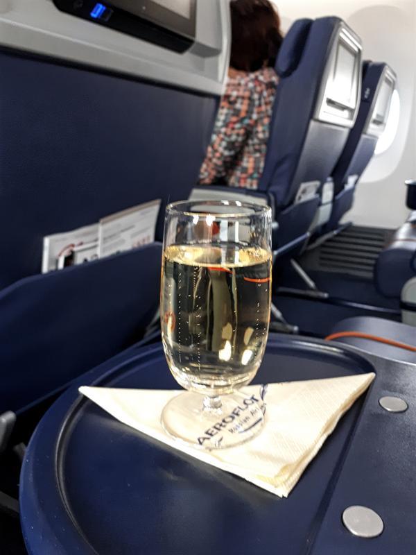 aeroflot pdb champagne review moscow irkutsk