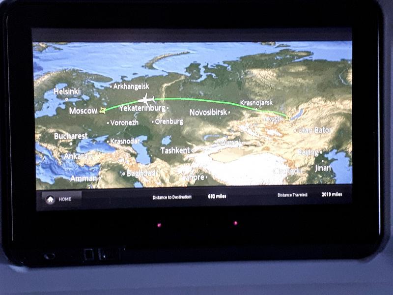 aeroflot irkutsk moscow ife flight path