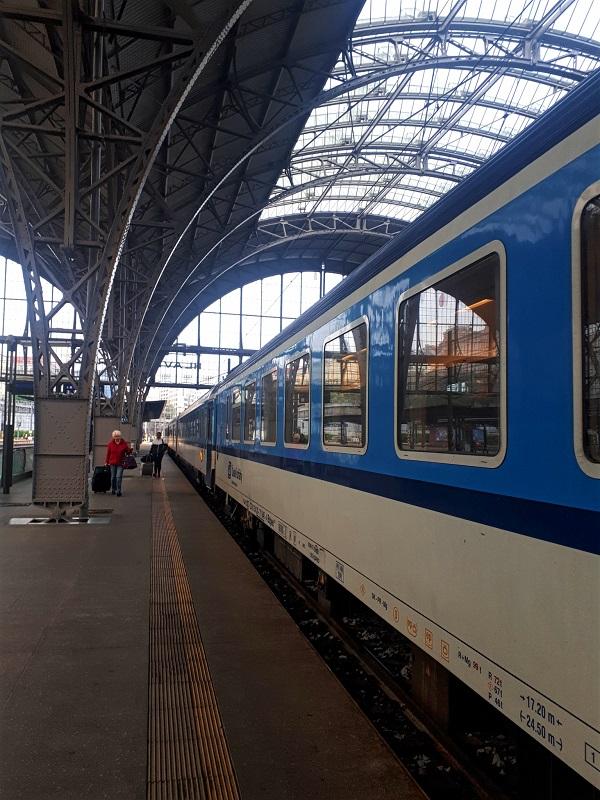 prague cheb train express train czech republic