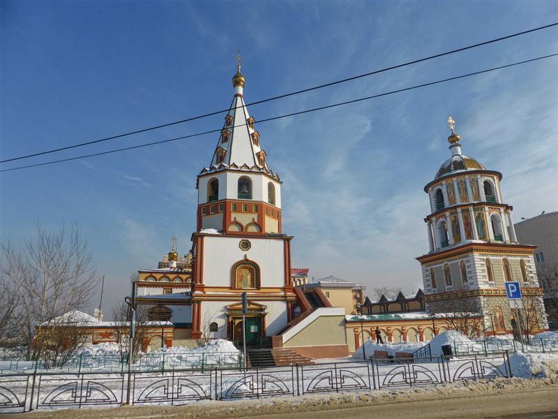 orthodox church irkutsk russia trip report guide winter