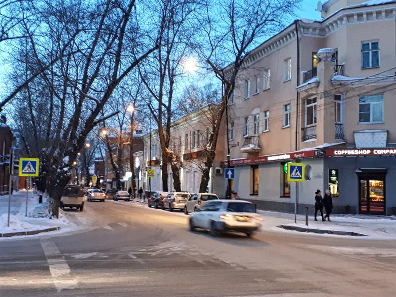 irkutsk street city centre trip report guide winter