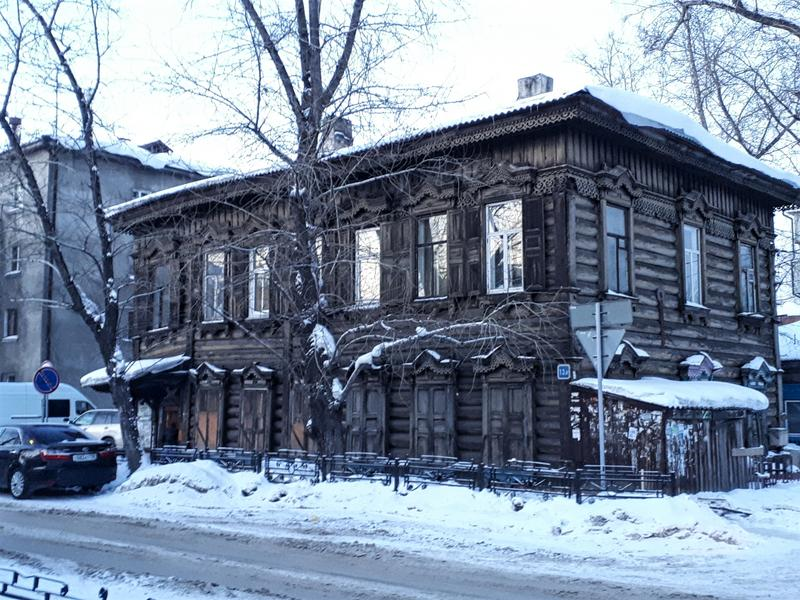 irkutsk wooden house
