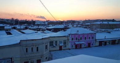 irkutsk matreshka sunset room view