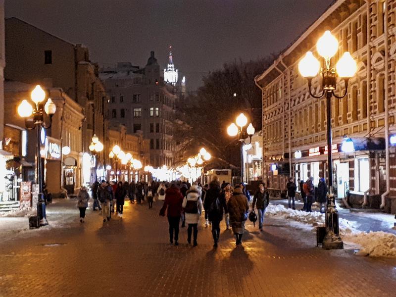 arbat street moscow