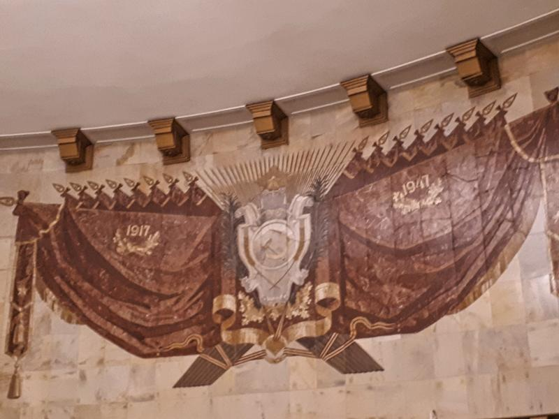 soviet mosaic moscow metro