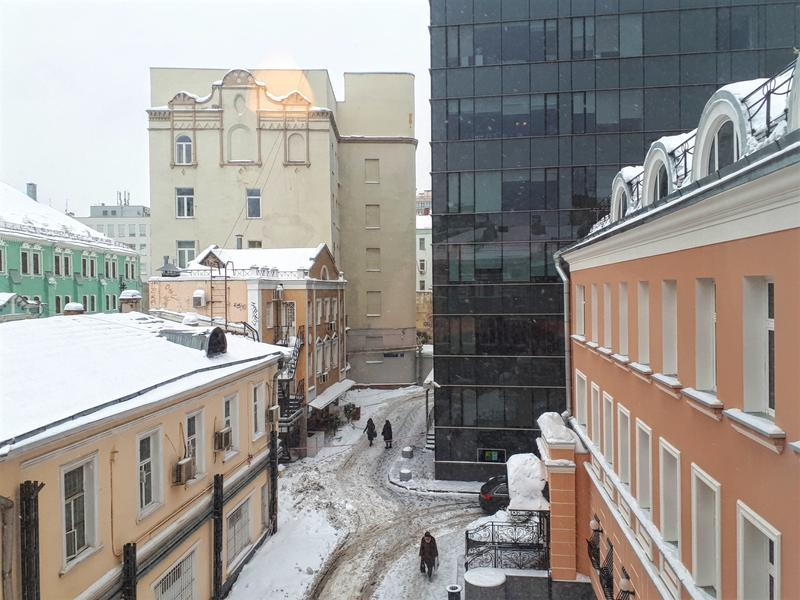pushkin hotel view