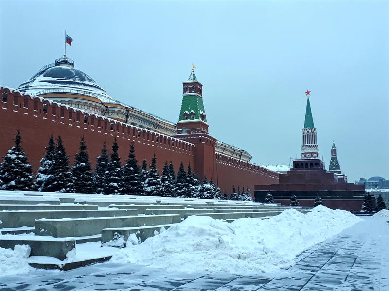 red square kremlin moscow