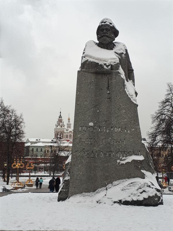 statue moscow