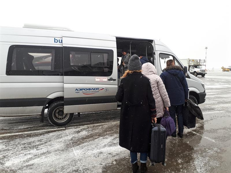 vip business class bus ground service sheremetyevo moscow airport svo