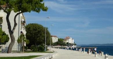 zadar croatia coast