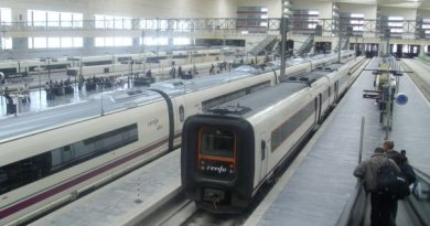 ave high speed train spain zaragoza