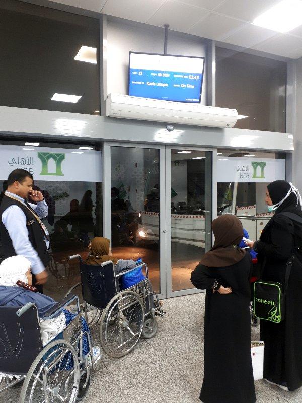 saudia jeddah bus gate