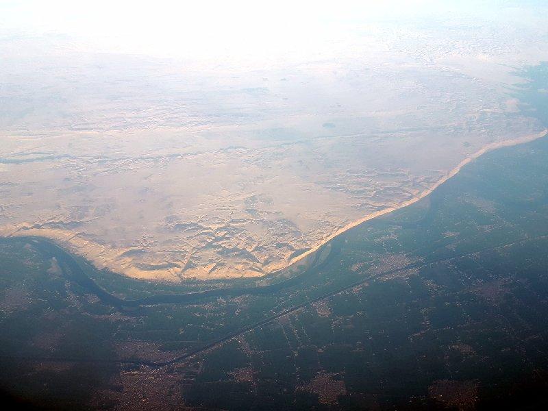 river nile view egypt