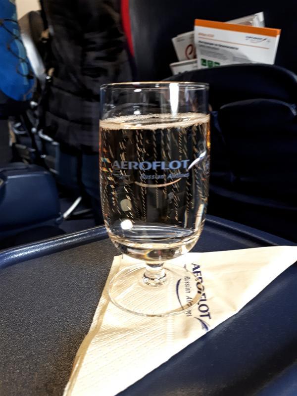 ayala champagne aeroflot review