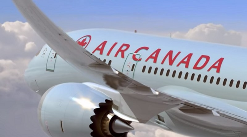 air canada plane boeing 787 b787