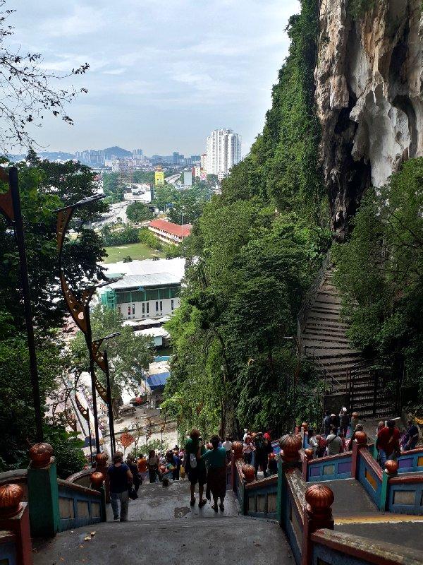 batu cave stairs