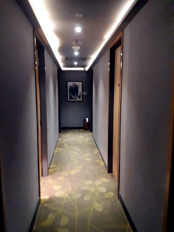 plaza premium hallway