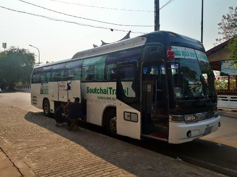 laos bus vientiane ticket
