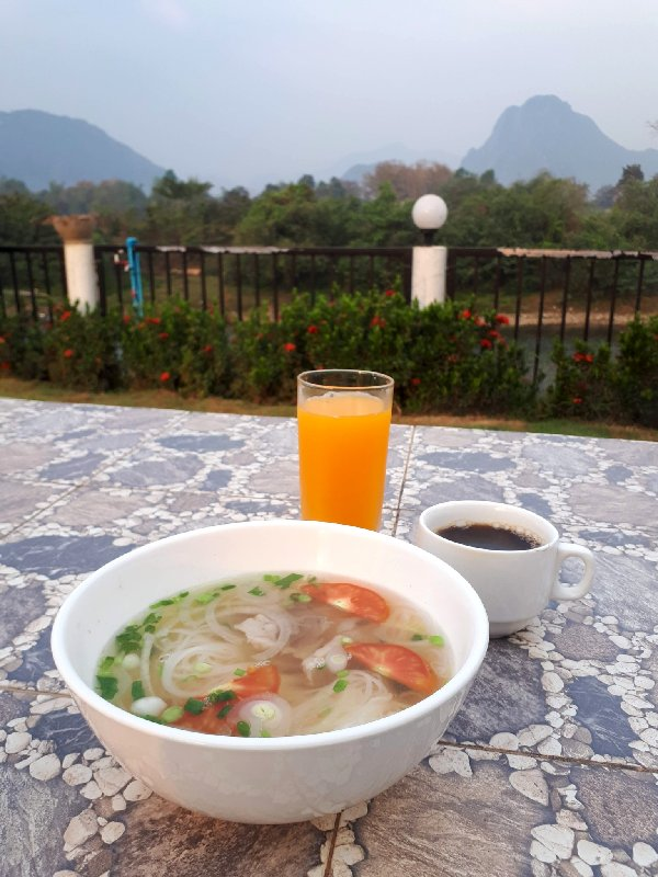 breakfast simon riverside hotel