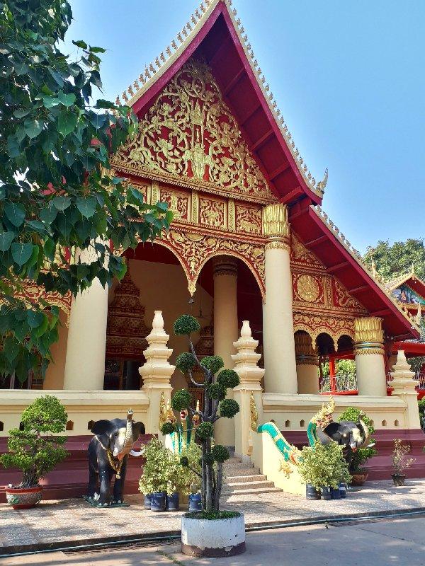 Wat Chanthaboury vientiane trip report