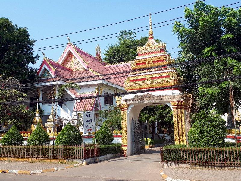 Xieng Nyeun Temple vientiane