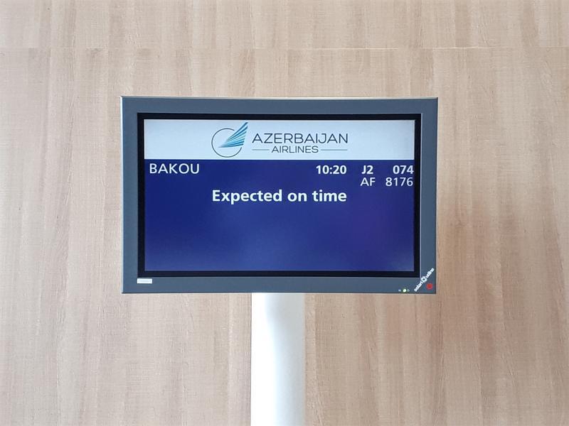 azal paris cdg boarding