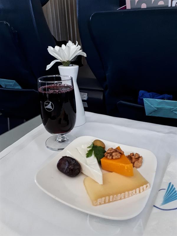 cheese course azerbaijan airlines