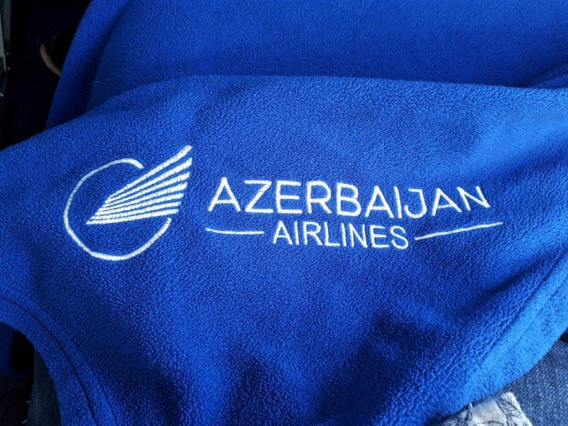 azerbaijan airlines blanket