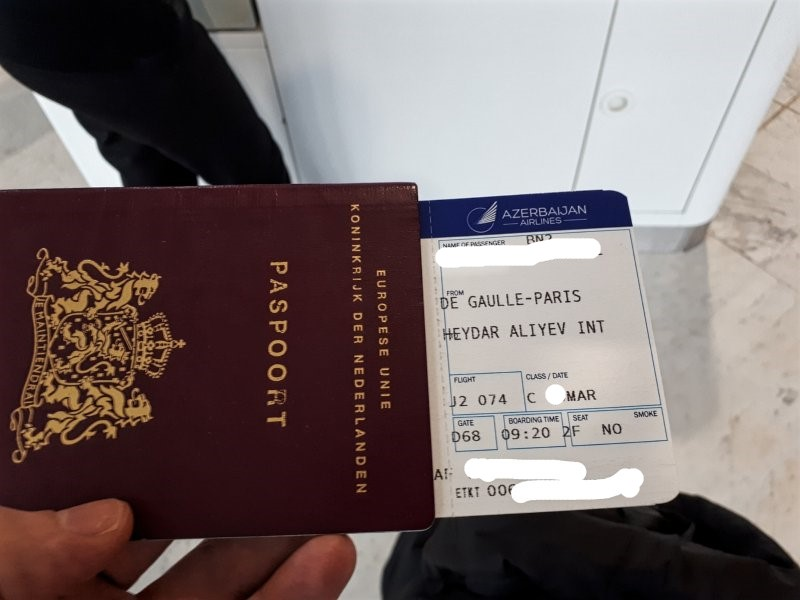 azerbaijan airlines boarding pass