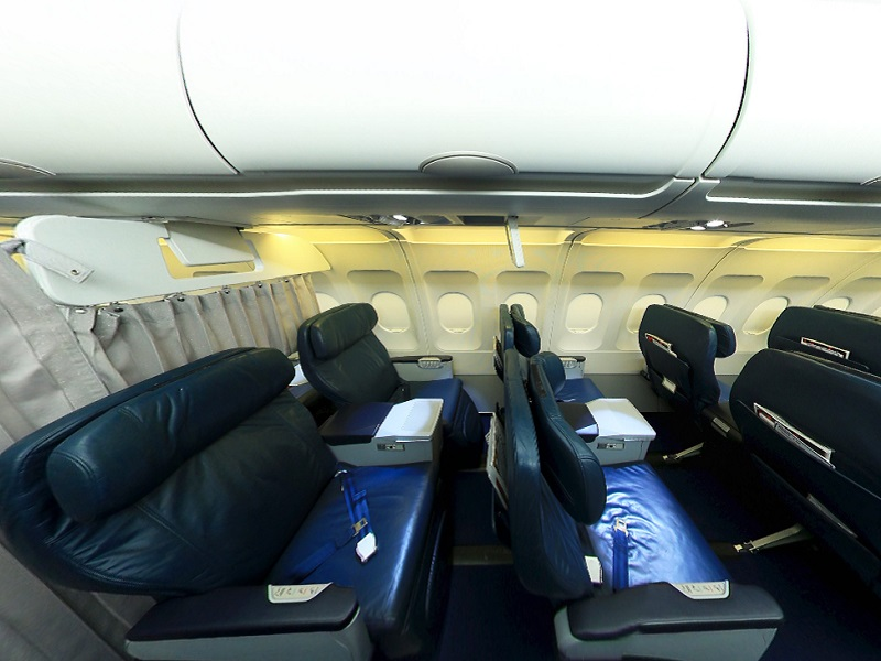 azerbaijan airlines azal business class seat review
