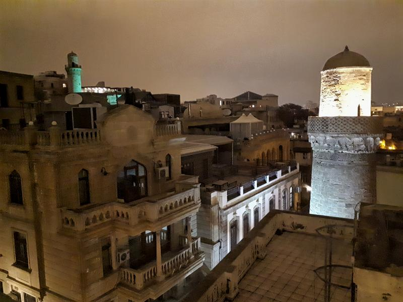 baku old town view