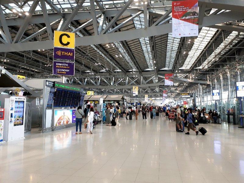 check in bangkok departures