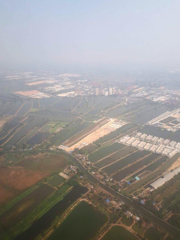bangkok takeoff departure