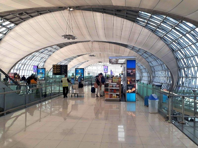 bangkok suvarnabhumi airport bkk