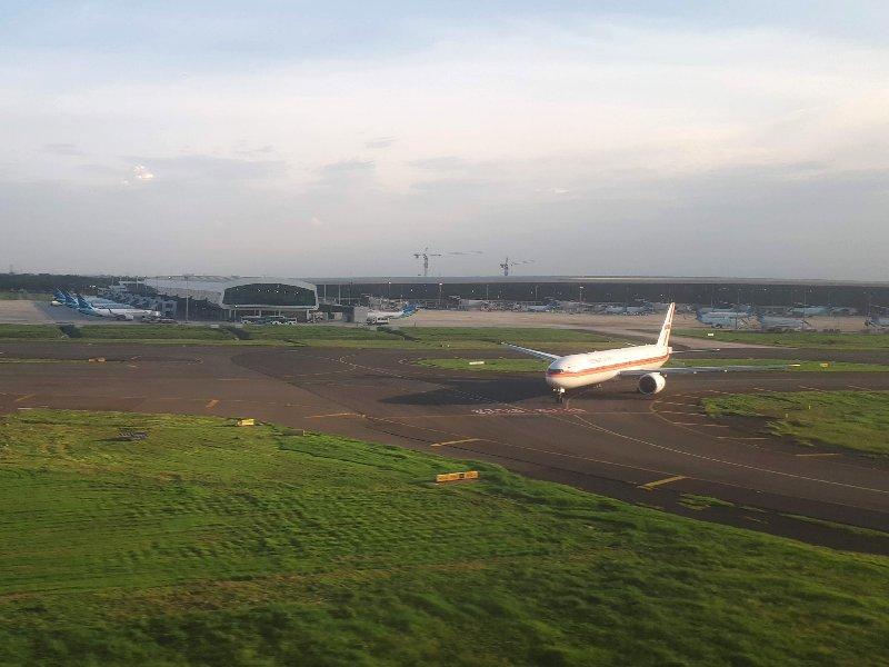 jakarta landing