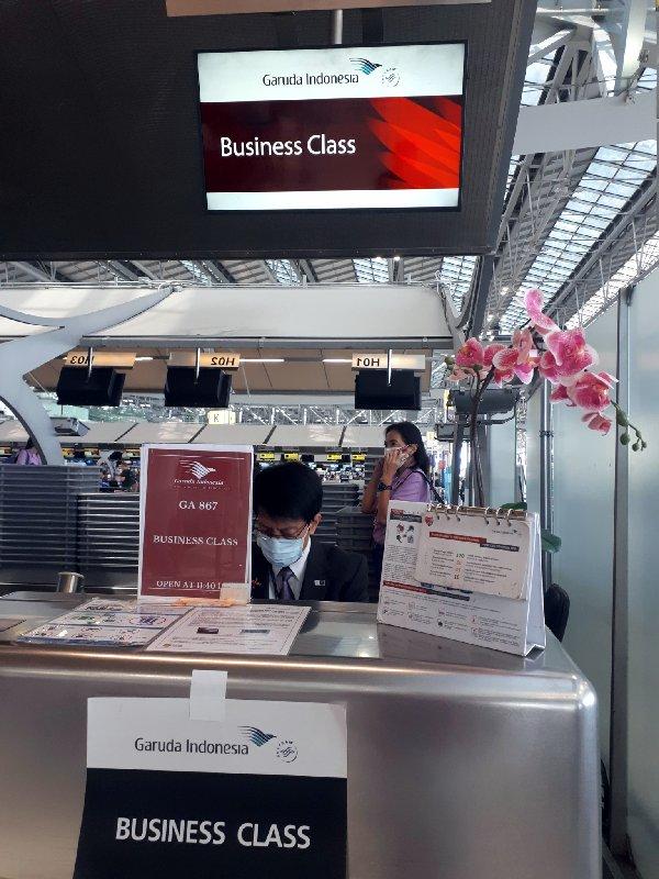 garuda check-in desk bkk