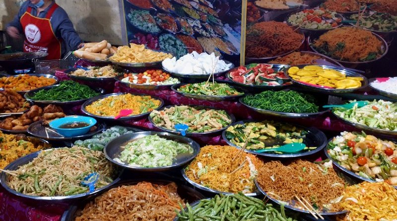 luang prabang trip report food night market