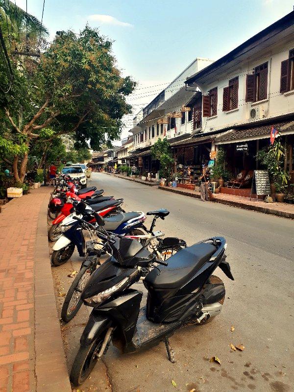 luang prabang street