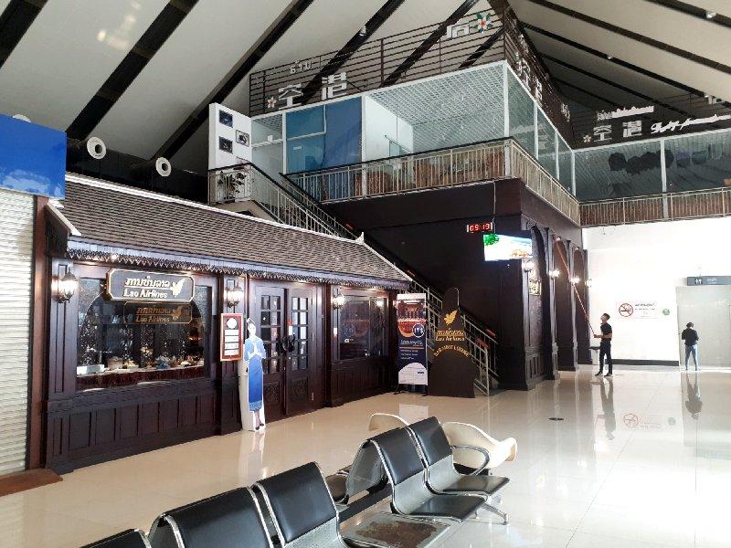 lao airlines lounge luang prabang airport thai smile