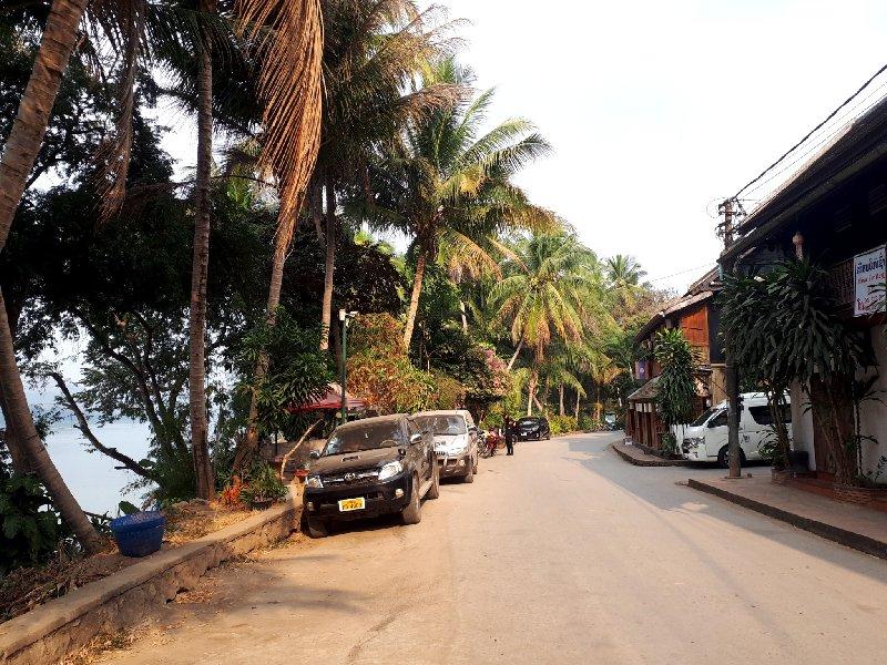 luang prabang riverside road
