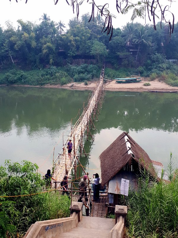 luang prabang bridge