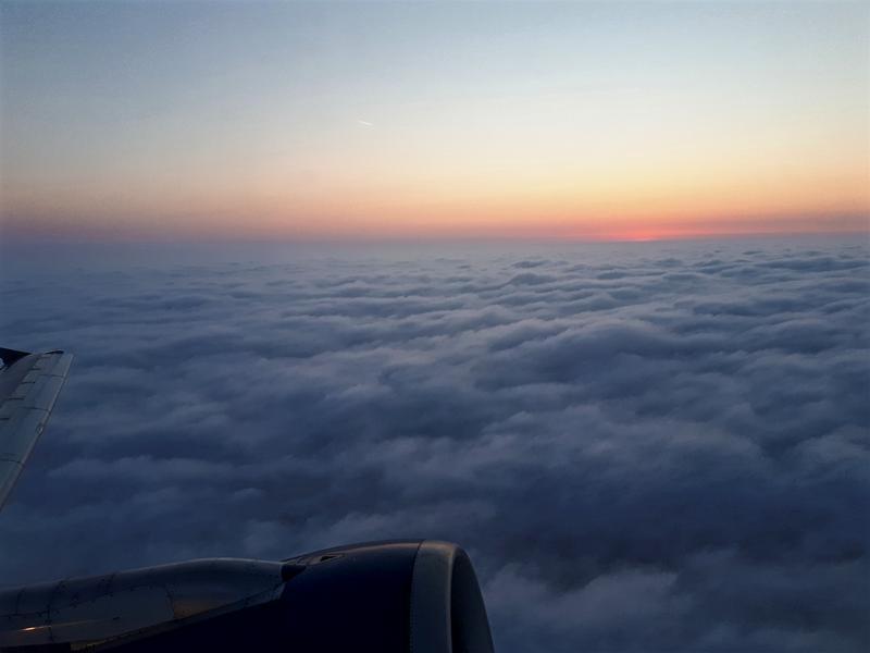 baku airport take-off departure