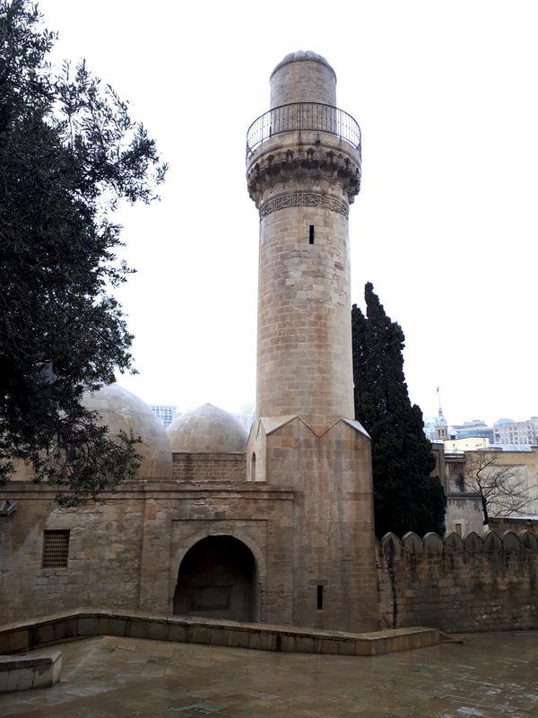 shirvanshah palace mosque baku