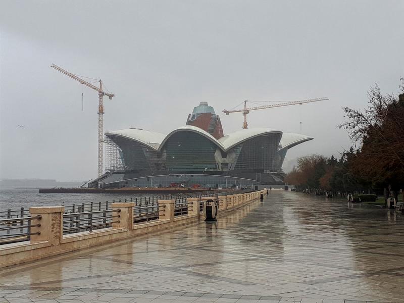 caspian waterfront mall baku trip report