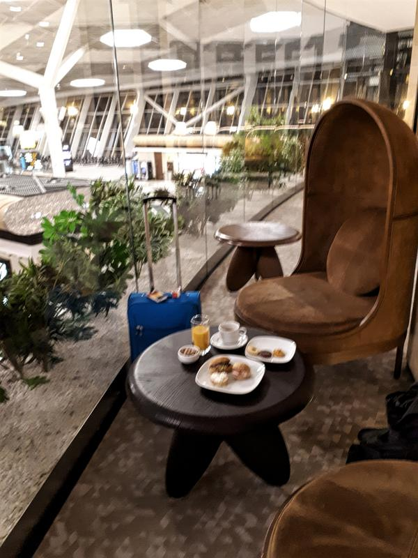 azerbaijan airlines lounge
