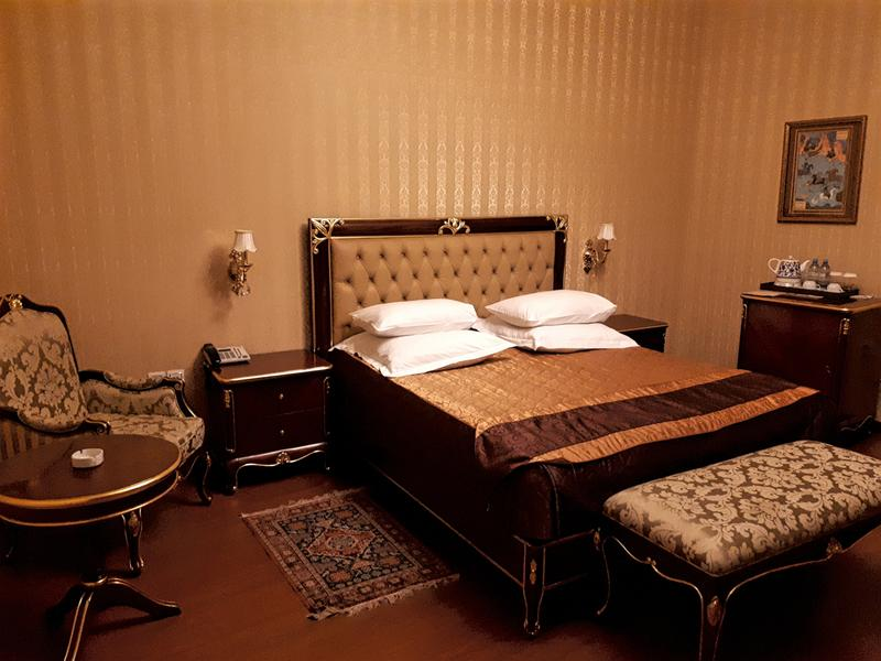 shah palace hotel review room