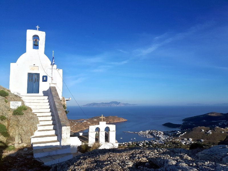 agios konstantinos church hora view serifos