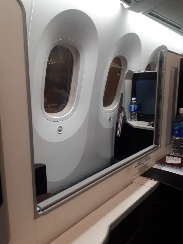 seat divider jal business class seat