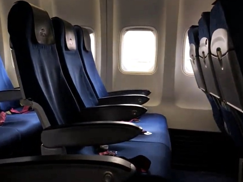 klm boeing 737 business class seat review